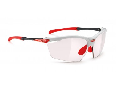 RUDY PROJECT AGON - occhiali white gloss/impactX photochromic 2red