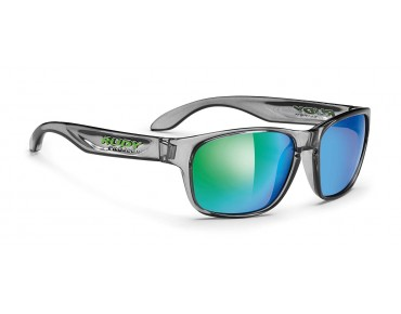 RUDY PROJECT SENSOR Brille crystal ash/multilaser green