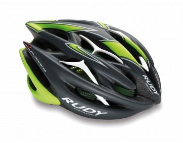 RUDY PROJECT STERLING helmet graphite/lime fluo matte