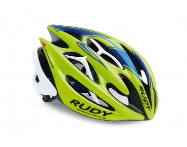 RUDY PROJECT STERLING helmet lime fluo/blue