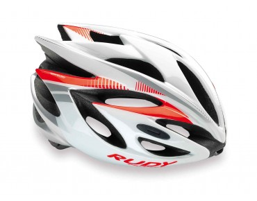 RUDY PROJECT RUSH helmet red fluo