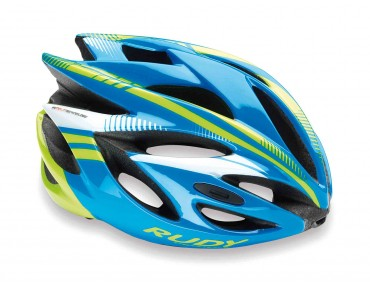 RUDY PROJECT RUSH helmet azur/lime fluo