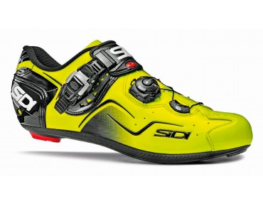 SIDI KAOS road shoes yellow fluo