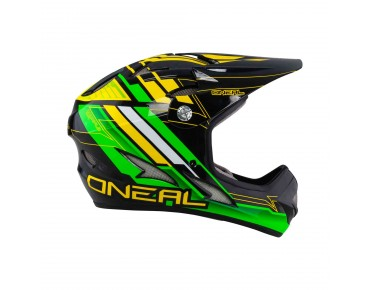 O´NEAL BACKFLIP FIDLOCK Vollvisierhelm pinner green