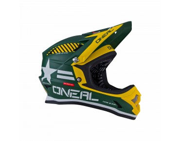 O´NEAL FURY EVO Integral Helm afterburner green