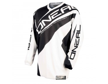 O´NEAL ELEMENT long-sleeved bike shirt RACEWEAR white