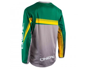 O´NEAL ELEMENT FR 2015 Langarm-Bikeshirt green/yellow