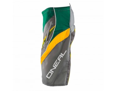 O´NEAL ELEMENT FR Bikeshorts green/yellow