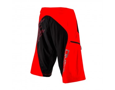 O´NEAL PIN IT II Bikeshorts red