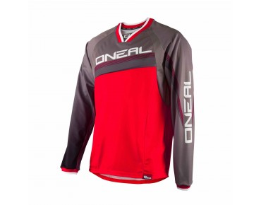 O´NEAL ELEMENT FR Greg Minnaar kids' long-sleeved shirt red/grey