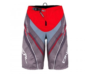 O´NEAL ELEMENT FR Greg Minnaar kids' bike shorts red/grey