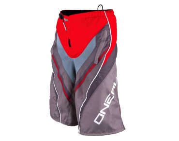 O´NEAL ELEMENT FR Greg Minnaar Kinder Bikeshorts red/grey