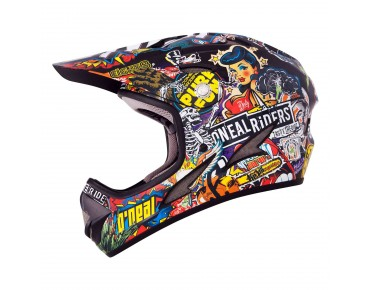 O´NEAL BACKFLIP Kids Vollvisierhelm crank multi
