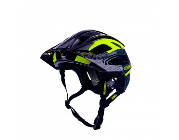 O´NEAL ORBITER II MTB-Helm black/neon yellow