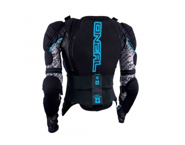O´NEAL MADASS protector jacket black/blue