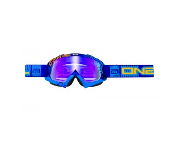 O´NEAL B-FLEX RADIUM goggles ETR blue/orange