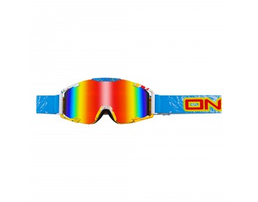 O´NEAL B2 RADIUM goggles SPRAY blue