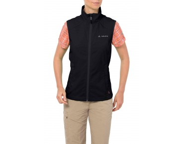 VAUDE HURRICANE II women's soft shell vest black