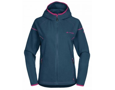 VAUDE SMALAND Damen Fleece Hoody baltic sea
