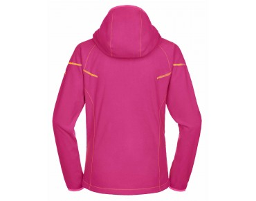 VAUDE SMALAND Damen Fleece Hoody grenadine