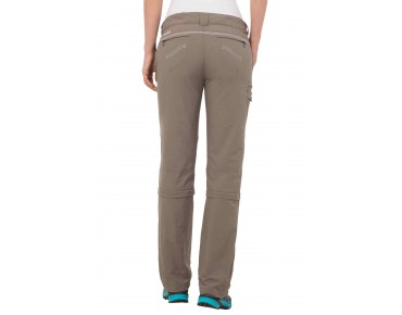 VAUDE SKOMER CAPRI women's zip-off trousers Coconut