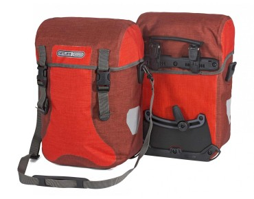 ORTLIEB Sport-Packer Plus QL2 set of two panniers signal red/chili