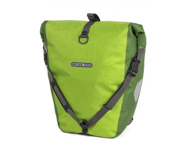ORTLIEB Back Roller Plus set of two pannier bags lime/mossy green