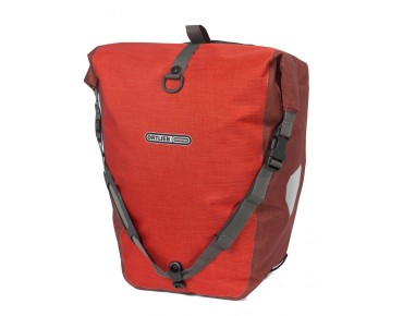 ORTLIEB Back Roller Plus set of two pannier bags signal red/chili
