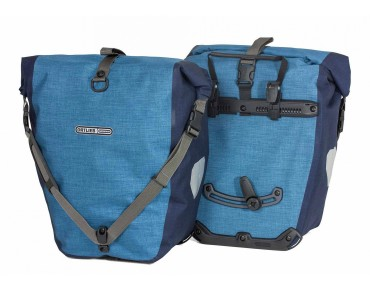 ORTLIEB Back Roller Plus set of two pannier bags denim/steel blue