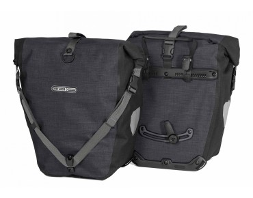 ORTLIEB Back Roller Plus set of two pannier bags granite black