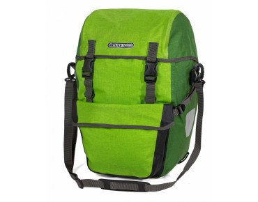 ORTLIEB Bike-Packer Plus set consisting of two pannier bags lime/mossy green