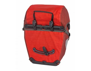 ORTLIEB Bike-Packer Plus set consisting of two pannier bags signal red/chili