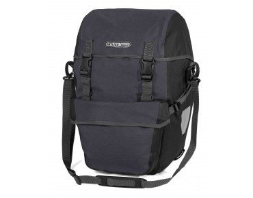 ORTLIEB Bike-Packer Plus set consisting of two pannier bags granite-black