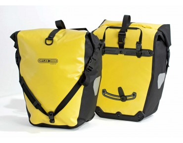 ORTLIEB Back Roller Classic set of two pannier bags yellow/black