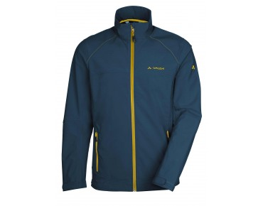 VAUDE HURRICANE III soft shell jacket baltic sea