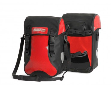 ORTLIEB SPORT-PACKER CLASSIC low rider or rear pannier red/black
