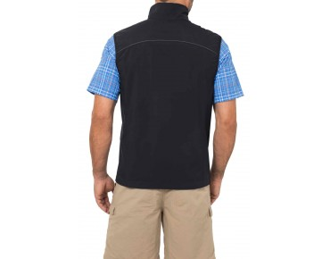 VAUDE HURRICANE II soft shell vest black