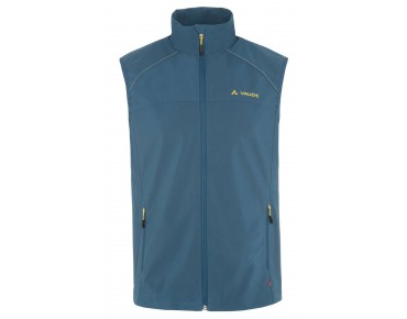 VAUDE HURRICANE II soft shell vest baltic sea