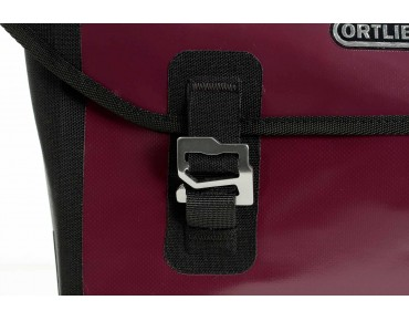 ORTLIEB DOWNTOWN QL2.1 office bag aubergine/black