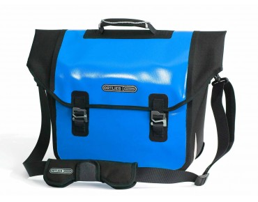 ORTLIEB DOWNTOWN QL2.1 office bag ocean blue/black