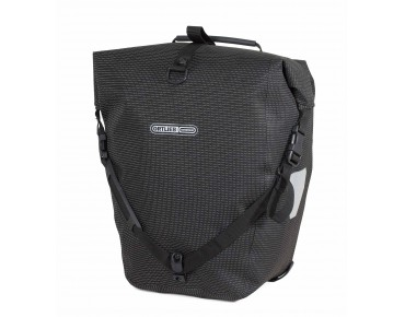 ORTLIEB Back Roller High Visibility set of two pannier bags reflective black