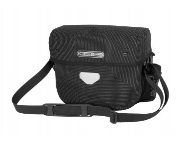 ORTLIEB ULTIMATE 6 HIGH VISIBILITY handlebar bag reflective black