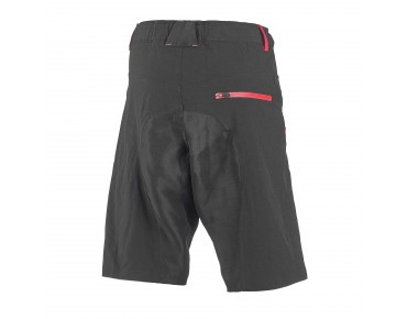 ROSE 2 WAY women's bike shorts black/berry