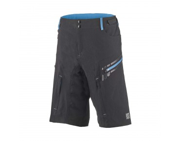 ROSE 2 WAY bikeshort black/sky