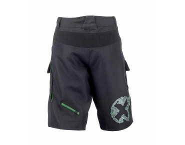 ROSE DOWN Bikeshorts black/green