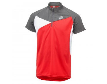 ROSE MOUNTAIN CROSS II Trikot grey/red/white
