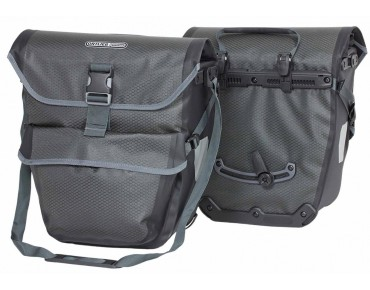 ORTLIEB BIKE-TOURER set of two pannier bags slate-black