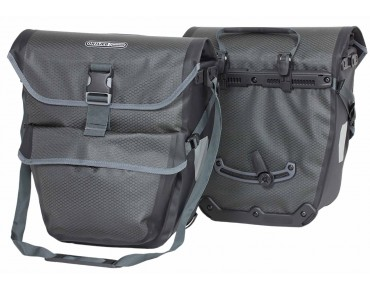 ORTLIEB BIKE-TOURER rear panniers 2 x 19l slate/black