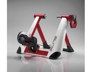 Elite Novo Mag Force Elastogel turbo trainer white/red