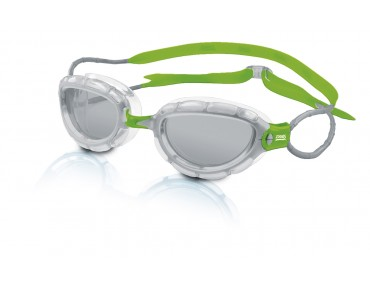 Zoggs Predator swimming goggles grey-green/grey lens